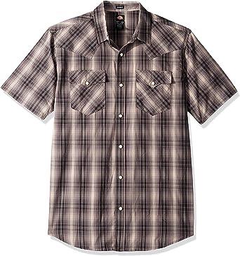 Dickies - Camisa vaquera de manga corta para hombre: Amazon.es: Ropa y accesorios