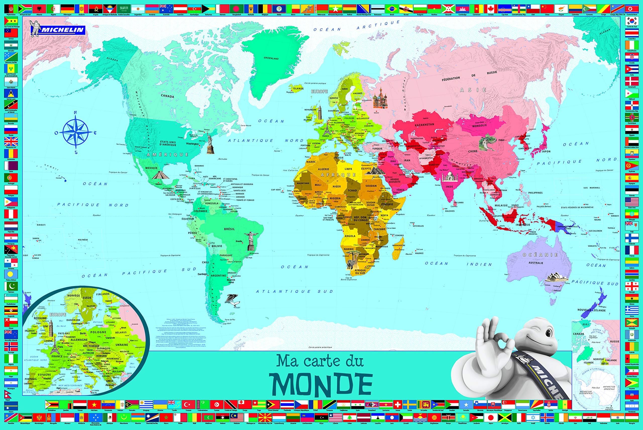 carte du monde pour maternelle Ma carte du monde Enfants: Amazon.ca: Collectif,, Collectif: Books