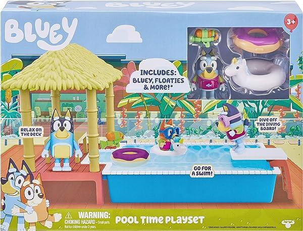 Bluey Pool Playset