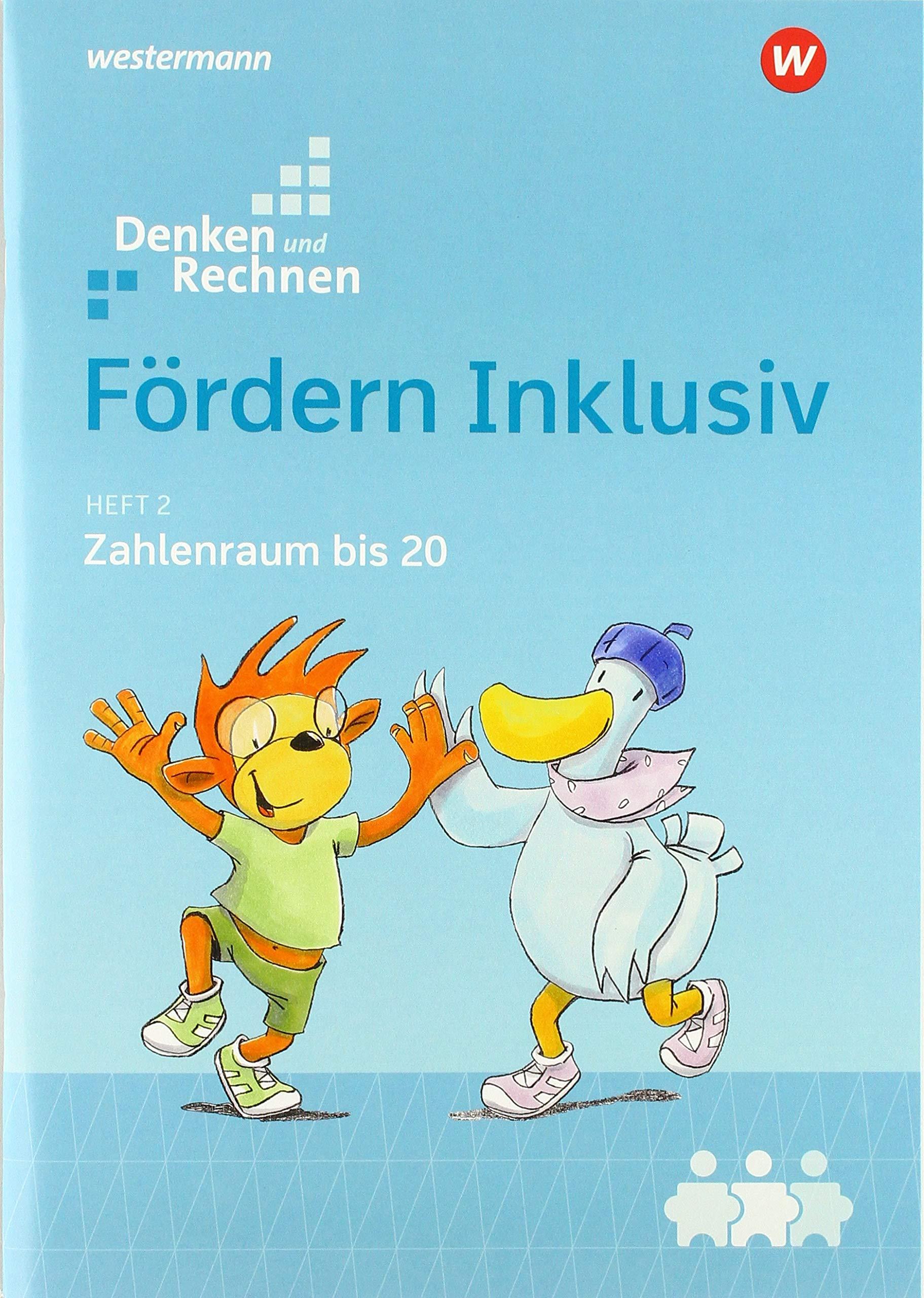 Fördern Inklusiv  Heft 2  Zahlenraum Bis 20  Denken Und Rechnen
