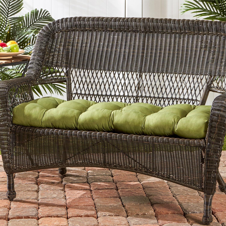amazoncom greendale home fashions 44inch swingbench cushion home u0026 kitchen