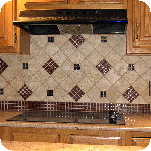 Glass Mosaic Backsplashes - Backsplash Tile Ideas