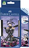 Faber-Castell 114485 Zeichenset Art Grip Aquarelle Anime Art Gothic