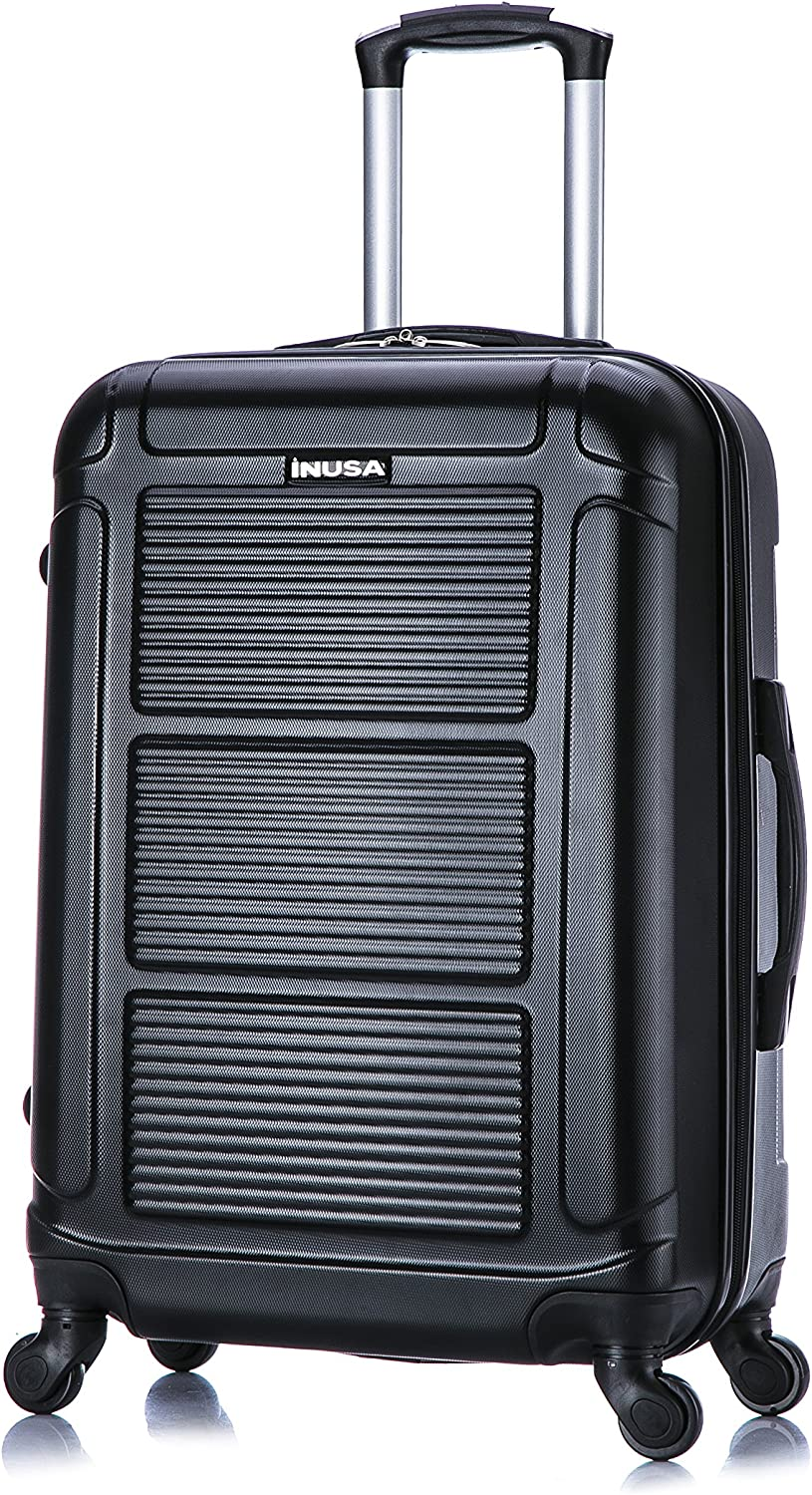 InUSA Pilot Luggage Lightweight Hardside Carry-On Spinner 20 inch Two Tone Green