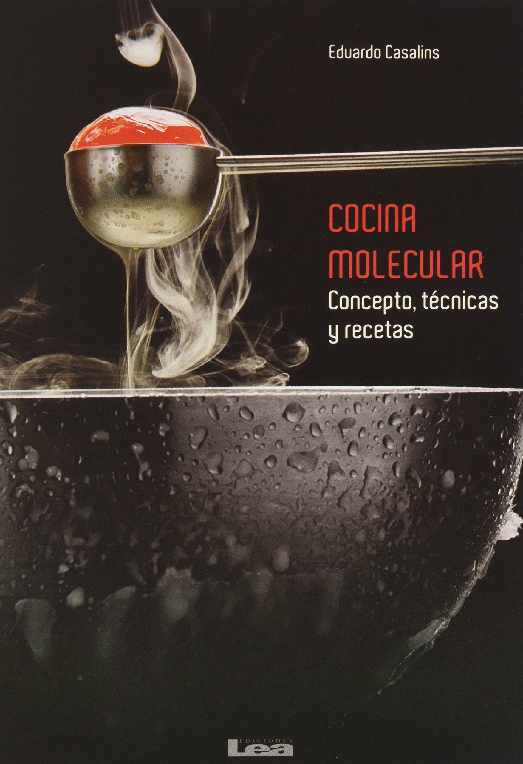 Recetas Cocina Molecular   Cocina Molecular Conceptos Tecnicas Y Recetas Amazon De Eduardo