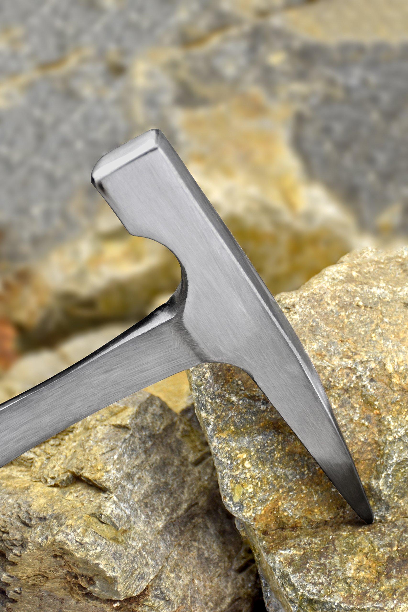 SE 8399-RH-ROCK 11-Inch Rock Hammer, 20 Oz. by SE (Image #3)