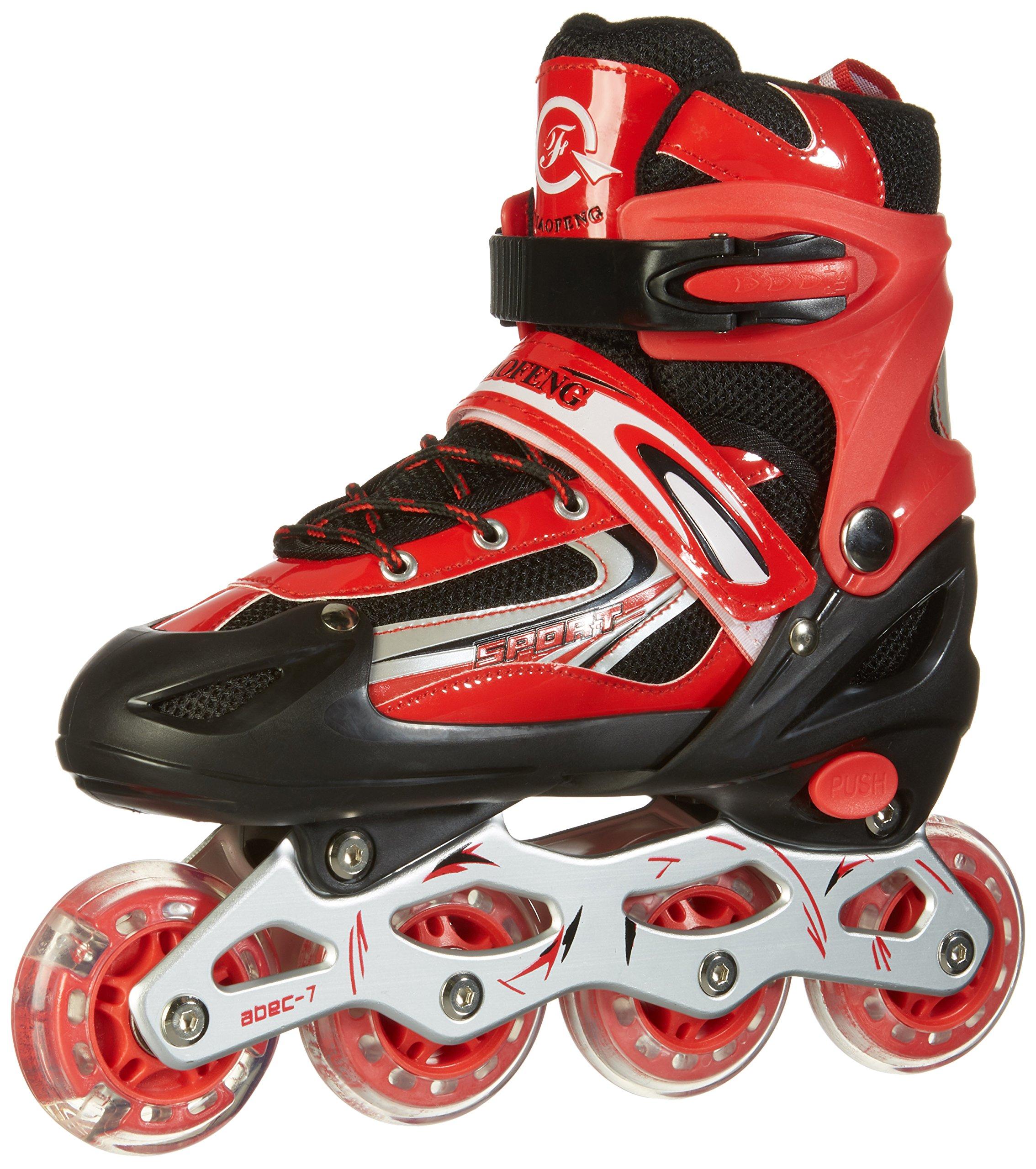 Rollers pour enfants/adolescents, à taille réglable - roulis avant Luminous product image