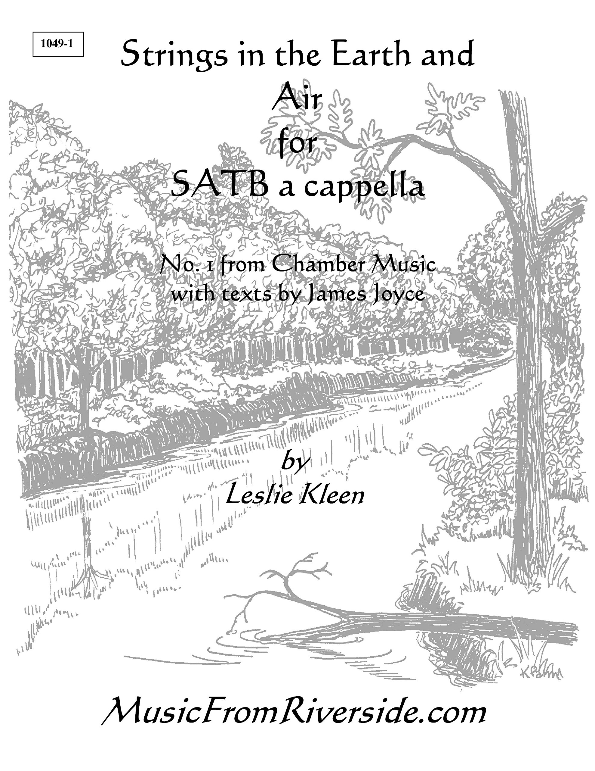 Read Online Strings in the Earth and Air for SATB a cappella - 10 copies pdf epub