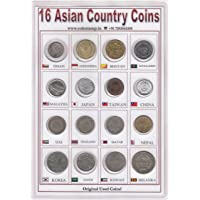 Coins & Stamps Asia Coins 16 Different Countries