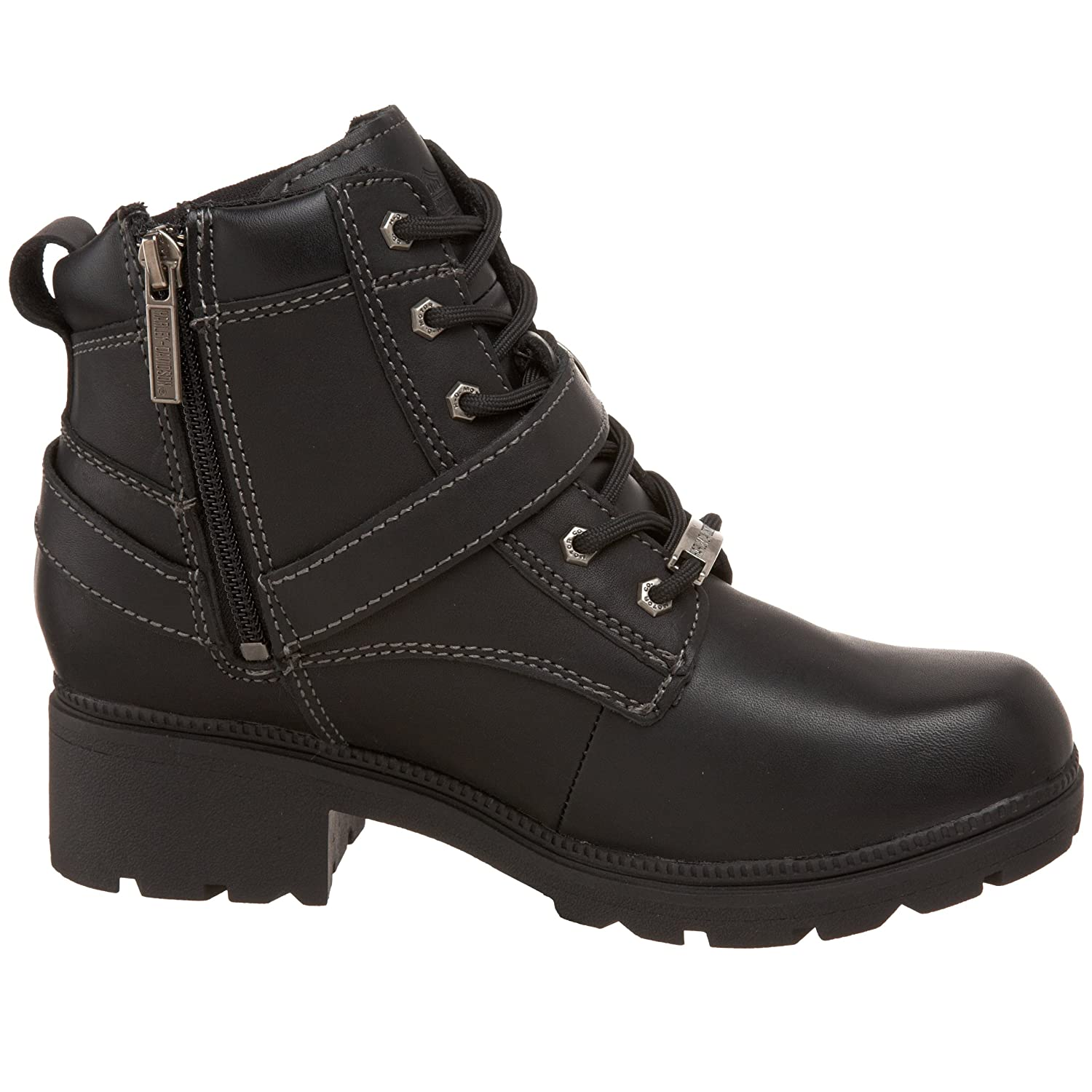 Harley-Davidson Women's Tegan Ankle Boot B0030MIHN2 7.5 B(M) US|Black