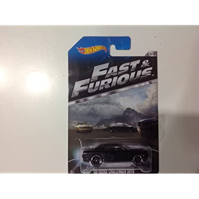 Hot Wheels Fast & Furious '08 Dodge Challenger SRT8 #6/8 International Card Release: Toys & Games