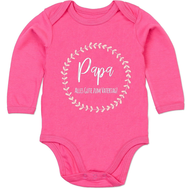 Vatertag Baby Rosa Alles Liebe zum Vatertag Baby T-Shirt Langarm