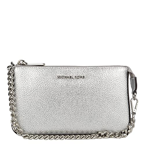 a010571910 MICHAEL by Michael Kors Jet Set Borsa a Tracolla Argento Medium Donna uni  Argento: Amazon.it: Scarpe e borse