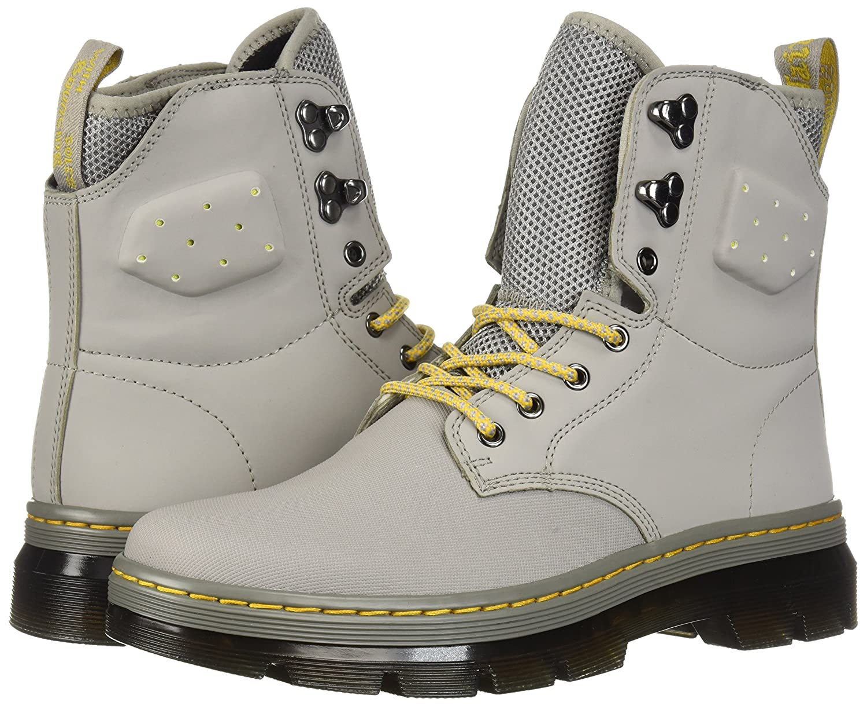 Dr. Martens Quinton Fashion UK Boot B0721F67C3 10 Medium UK Fashion (US Men's 11 US)|Grey 20cdb2