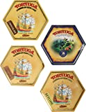 Tortuga Caribbean Rum Cake Assortment - 4 Rum Cakes of 4oz each