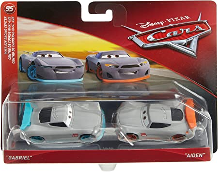 Disney Cars Vehicle 2 Pack - Gabriel & Aiden: Amazon.es: Juguetes y juegos