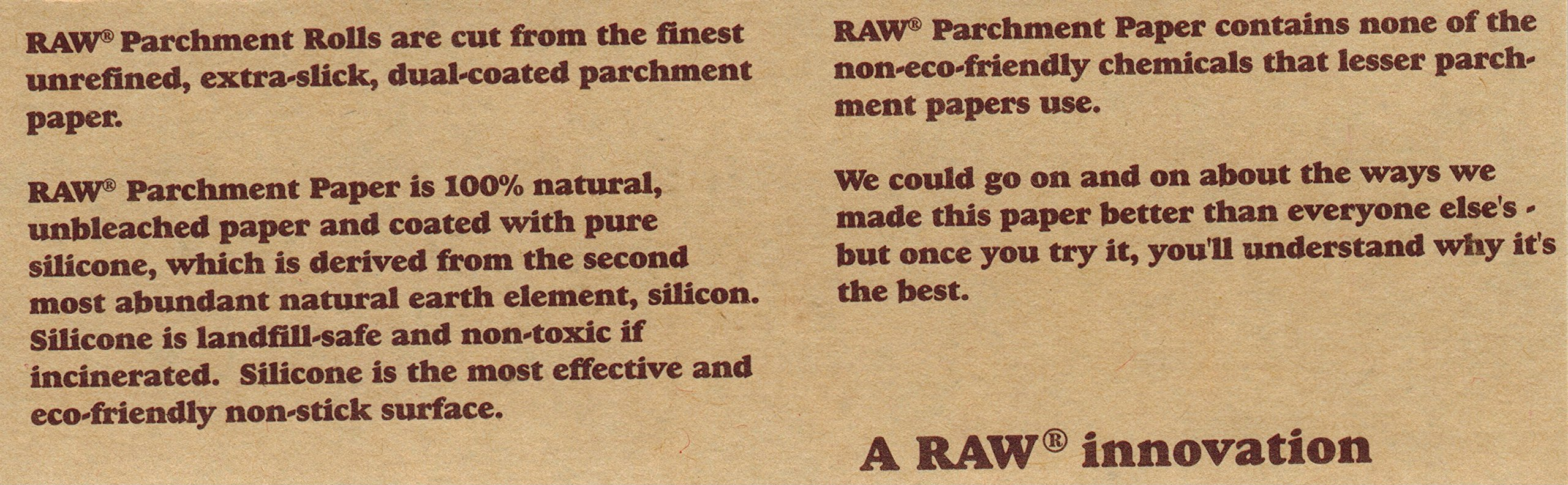 RAW Unrefined Parchment Paper Roll (12 roll display box, 100mm size) by RAW (Image #4)
