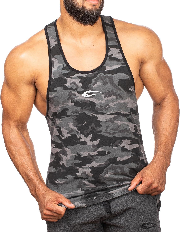 Kurzarm Lauftop Funktionstank f/ür Sport Fitness Gym /& Training SMILODOX Tank Top Herren Grand Casual Top Trainingsshirt Sporttank mit Logo