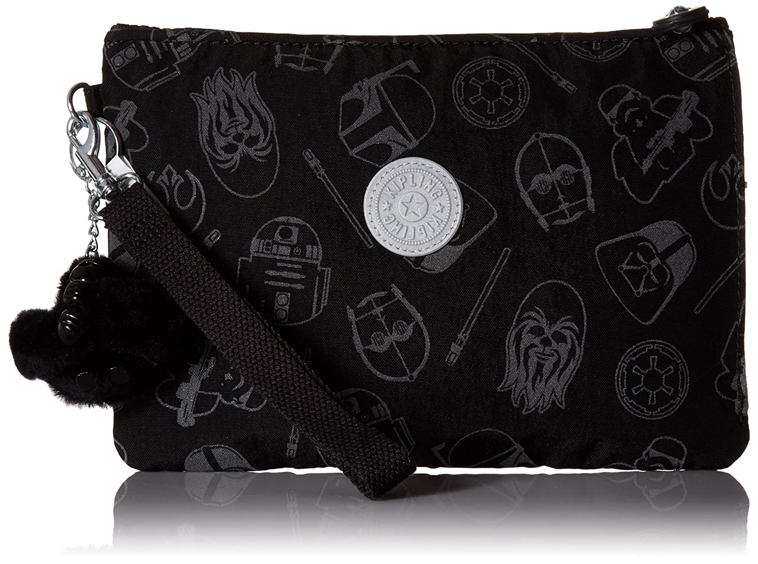 Kipling Disney Star Wars Electronico Galaxy Far Away Wristlet Pouch
