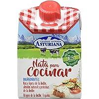 Central Lechera Asturiana Especial Cocina Nata Liquida UHT Ligera - 200 ml