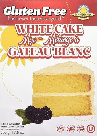 Kinnikinnick White Cake Mix 500 Gram Amazon Ca Grocery