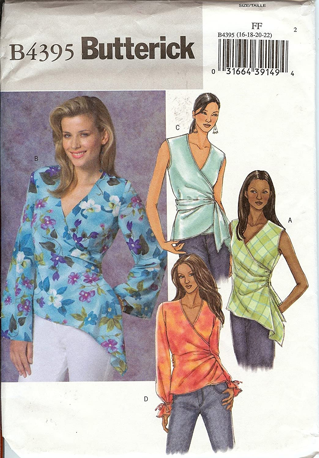 Butterick Sewing Patterns Tops