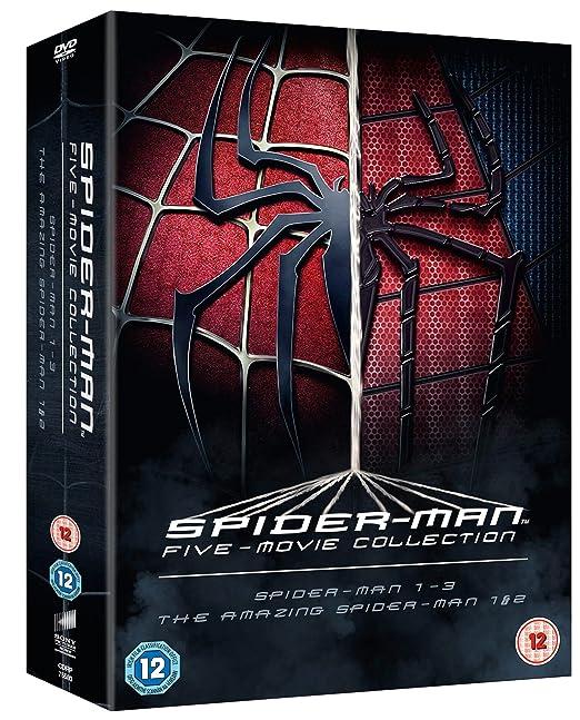 The Spider-Man Complete Five Film Collection Reino Unido DVD: Amazon.es: Cine y Series TV