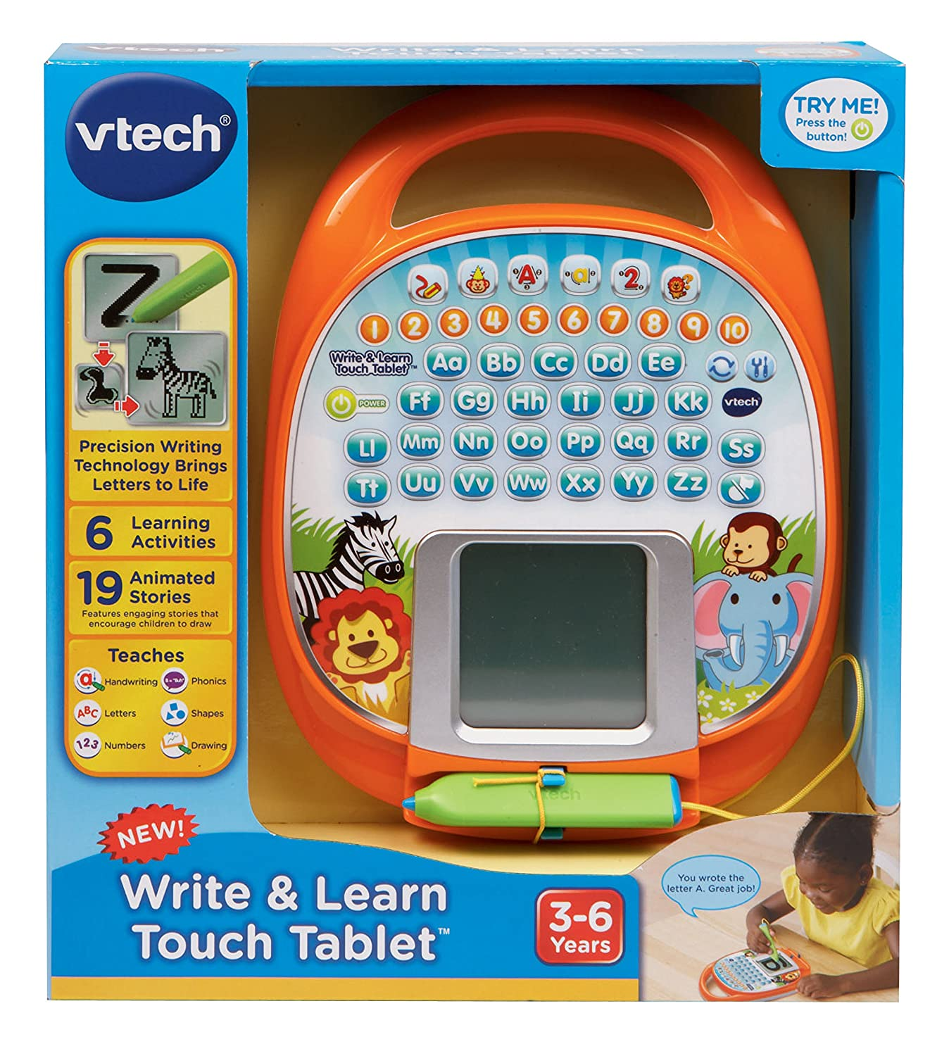 Amazon VTech Write and Learn Touch Tablet Toys & Games