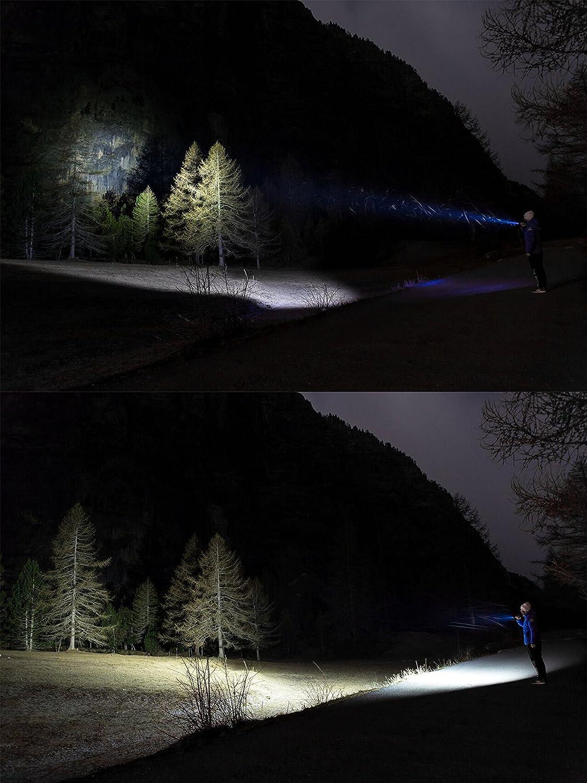 R40 Seeker Bleu Compatible pour Lampes Torches Olight M21X M22 Warrior M23 Javelot Olight/® Filtre dEclairage de Couleur Blue//Vert//Rouge//Blanc