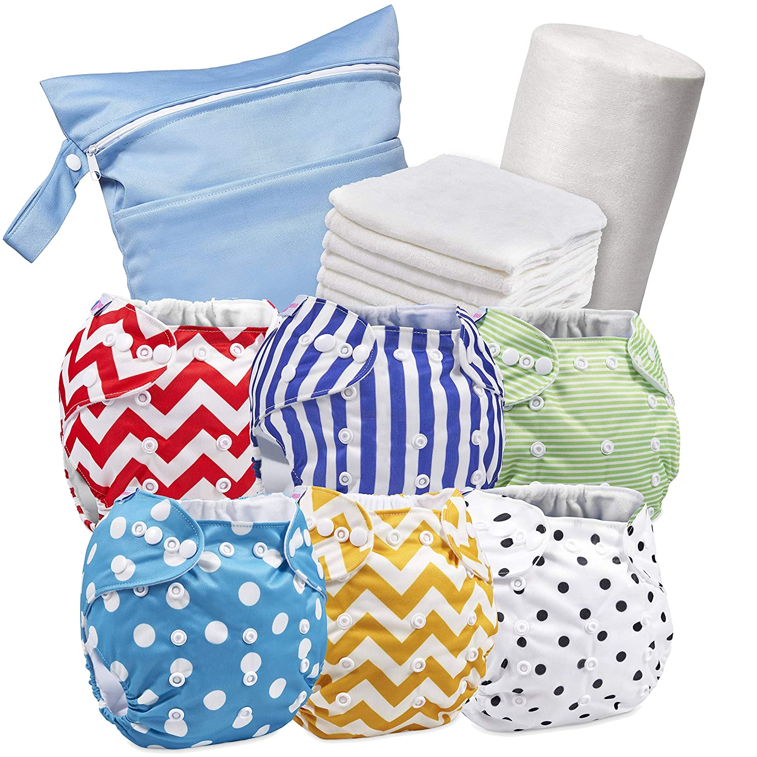 Biodegradable Cloth Nappy Diaper Flushable Disposable Liners Roll Diaper LA Baby Changing & Nappies Nappies