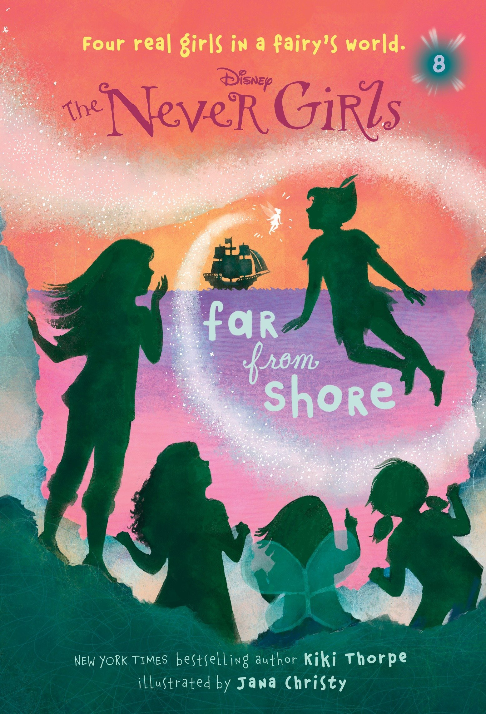 Download Never Girls #8: Far from Shore (Disney: The Never Girls) pdf epub