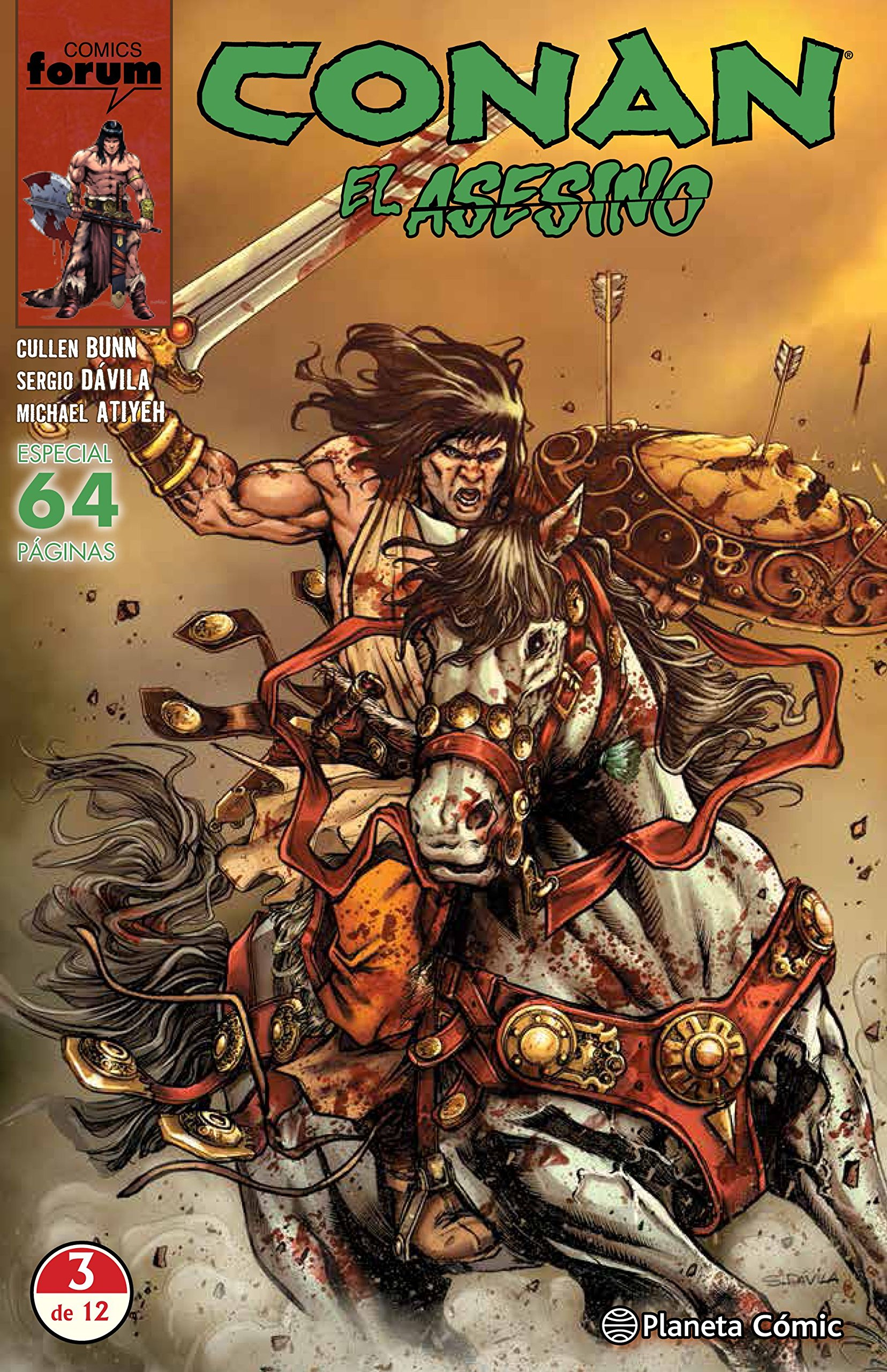 Conan El asesino nº 03/06: Amazon.es: Bunn, Cullen, Fernández ...