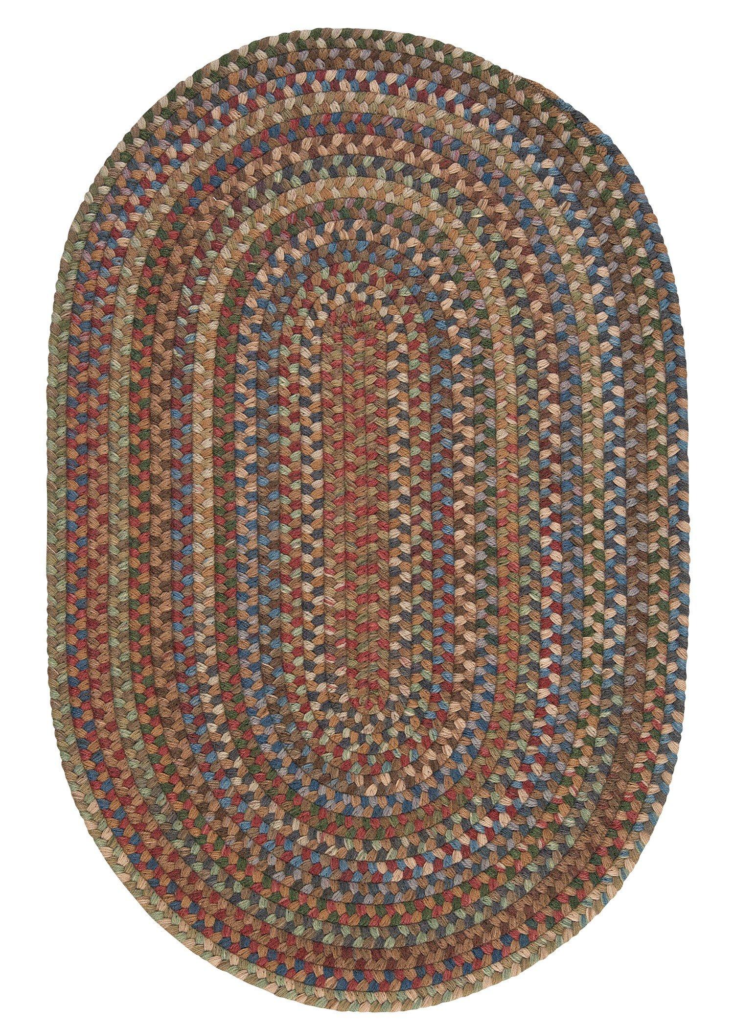 Oak Harbour Rug, 2 by 3-Feet, Dusk