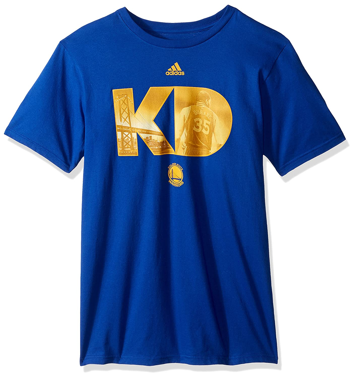 adidas NBA Golden State Warriors - Camiseta de Manga Corta ...