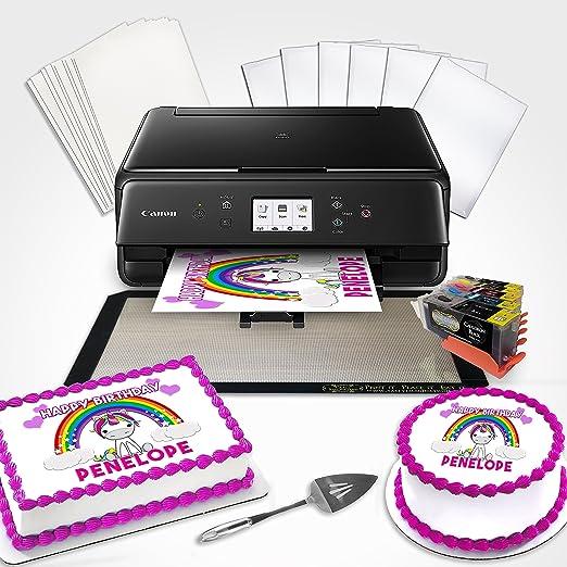 Comestible impresora Bundle BK con paleta para tartas de ...