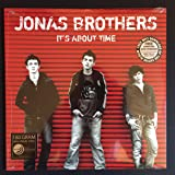 """Jonas Brothers """"IT'S ABOUT TIME"""" Debut Album 2006 Vinyl LP Record, Rare Collectible"""