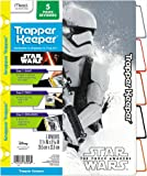 Star Wars Force Awakens Trapper Keeper 5 Tabbed Dividers by Mead, Assorted Designs, Colored Tabs