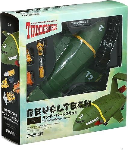 RR-001 Revoltech Thunderbird No.2 Kaiyodo painted action figure 210mm ABS/&PVC