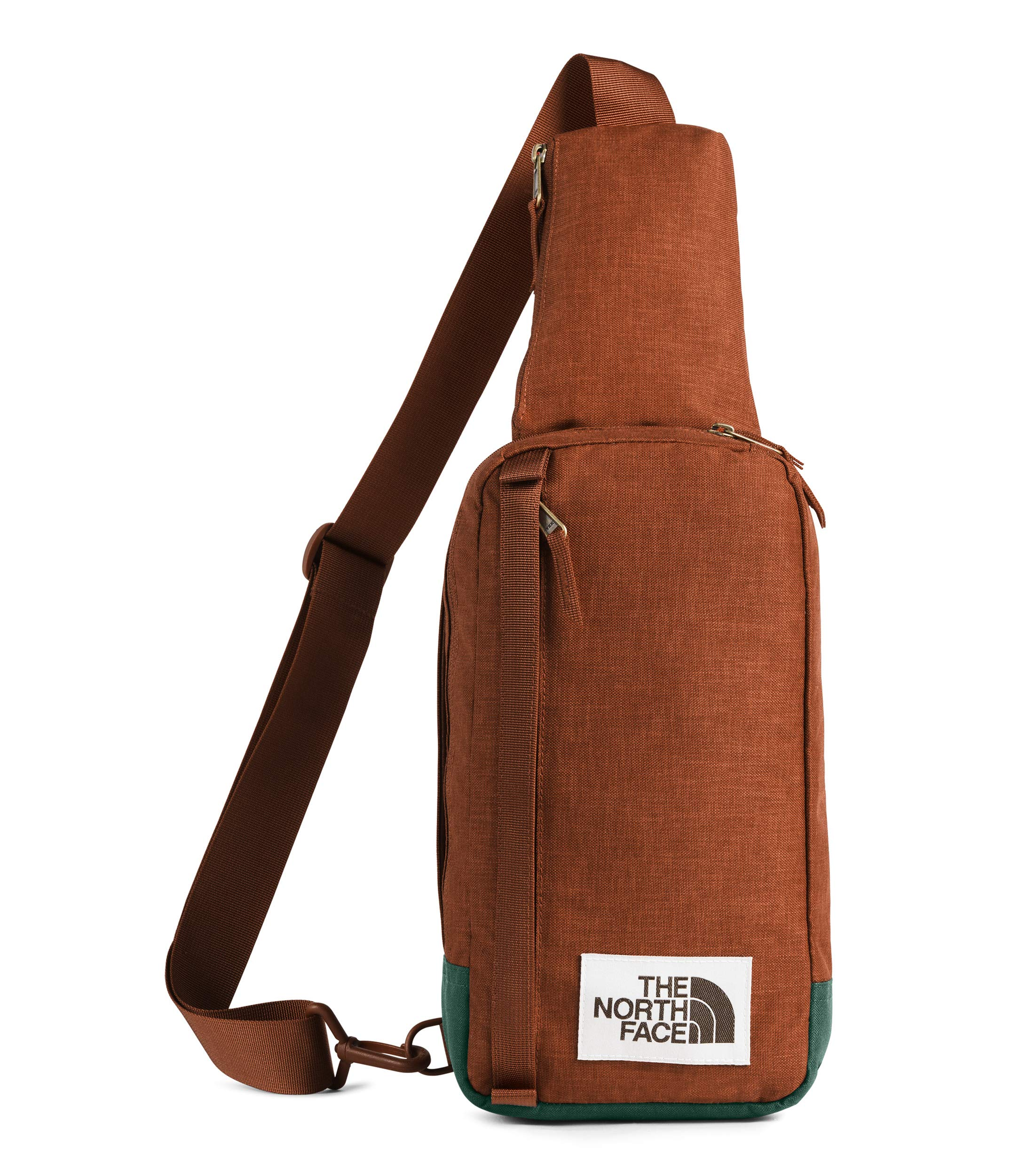 The North Face Field Bag, Picante Red Dark Heather/Night Green Light Heather, OS by The North Face