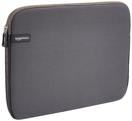 caae5b646c Amazon.com  AmazonBasics 13.3-Inch Laptop Sleeve - Grey  Computers    Accessories