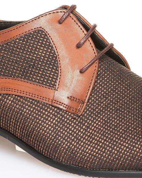 BLZ jeans - Chic braune Schuhe für Männer - Size  45, Color  Braun   Amazon.de  Schuhe   Handtaschen 0057180118