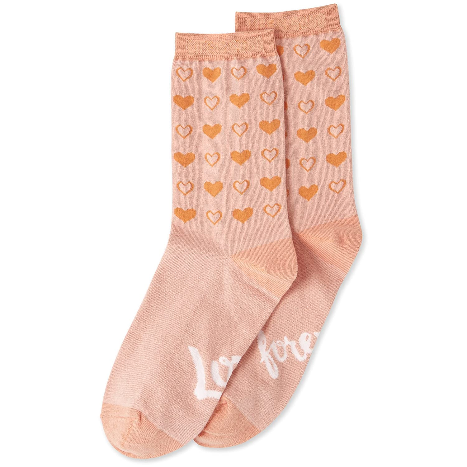 Life is Good Womens Cress Love Forever Socks Chalky Peach One Size The Life is good Company 50213