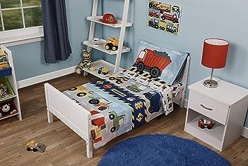 Amazon Com Funhouse 4 Piece Toddler Bedding Set Includes