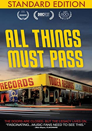 Amazon All Things Must Pass Elton John Bruce Springsteen Dave Grohl Russ Solomon Chris Cornell Colin Hanks Movies TV