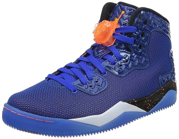 Amazon.com   Nike Jordan Mens Air Jordan Spike Forty PE Game Royal/Ttl Orng/White/Blk Basketball (10.5)   Basketball