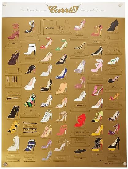 Pop Zapatos Del Bradshaw18 Muchos X Los 24Por Armario De Carrie HYE2DW9I