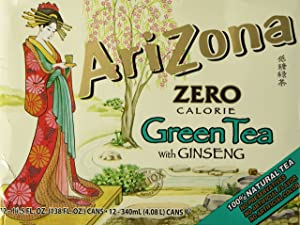 Arizona Diet Green Tea, 11.5-Ounce (12 Count)