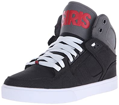 Osiris Men's NYC 83 VLC Skate Shoe, Black/Red, ...