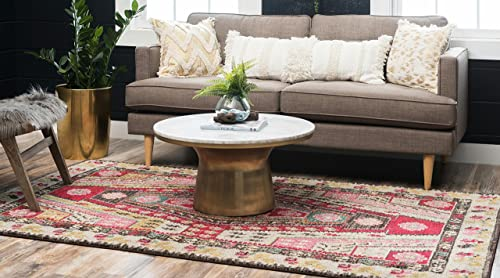 Unique Loom Sedona Collection Over-Dyed Tribal Geometric Multi Area Rug 10' 6 x 16' 5