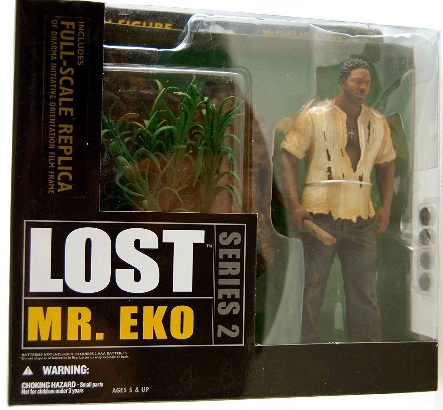 Lost Series 2: Mr  Eko Action Figure
